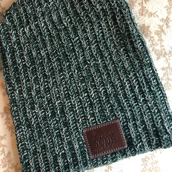 338b5468af5 Love Your Melon Accessories - Forest Green Love Your Melon Beanie